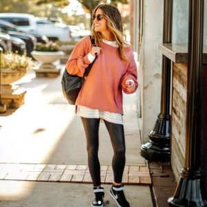 Abercrombie Off the shoulder Sweatshirt Size S NWT